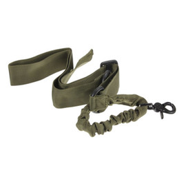 Sling singolo bungee online-Army Green 1 Un sistema di imbracatura tattica bungee regolabile a punto singolo H210295