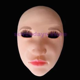 dolls para venda Desconto Venda quente Handmade Silicone Sexy E Doce Meia Máscara Facial Ching Crossdress Máscara Crossdresser Boneca Lady Máscara de Pele brinquedo