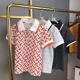 Été 2019 new Boys T-shirts Vêtements Enfant col rabattu Manche courte 100% coton Vêtements ? partir de fabricateur