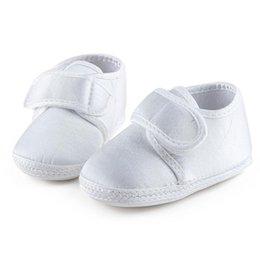 2019 weiße taufschuhe Pure White Die Taufe der Schuhe Heilige Winkel Weiche Sohle Baumwolle Babyschuhe Für 0-15 Monate Neugeborene Taufe günstig weiße taufschuhe