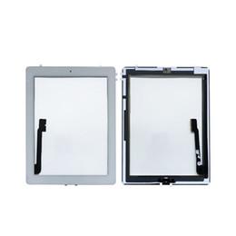 mini obiettivo ipad Sconti Per iPad 3 4 iPad3 iPad4 A1416 A1430 A1403 A1458 A1459 A1460 Touch Screen Digitalizzatore Pannello di vetro con pulsante Home DHL gratuito