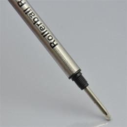 Price writing pens online-Precio promocional negro / azul M nib 710 Recarga de la pluma de tinta para monte Roller ball ball papelería 0.7mm escribir accesorios de la pluma lisa A9