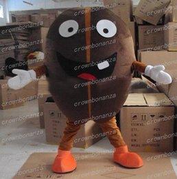 04506a15be0c Coffe Bean Mascot Costume Anime Tema Carnevale Halloween Cartoon brasiliano  chicchi di caffè Costume personaggio Natale festa di compleanno Sui