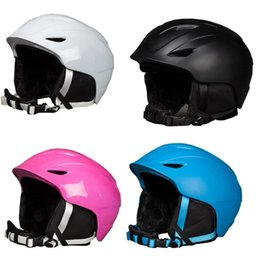 2019 capacetes de snowboard Engrossado Capacete De Esqui Integralmente-moldado Capacete De Esqui Para Adulto E Crianças Snow Snowboard Ski Snowboard capacetes de snowboard barato