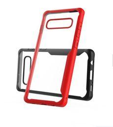 Per Samsung Galaxy S10 S10lite Armatura antiurto a doppio strato Custodia rigida Cover posteriore Custodia protettiva ibrida per PC in silicone per Samsung S10plus da