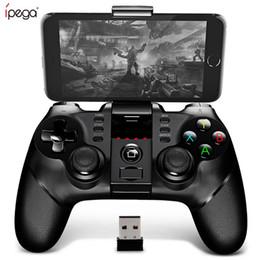 Pc spiele joystick kostenlos online-PG-9076 Bluetooth Gamepad Gamepad Controller Mobiler Trigger Joystick Für Android Handy PC Hand Free Fire