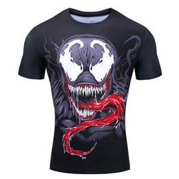 sportkostüme für männer Rabatt Marvel-Mann-T-Shirt Tops 3D-Druck Kostüm Tops Ironman Sport T-Superheld-T-Shirt Men Plus Size S-2XL