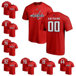 828bdbb6 Discount wine red t shirts - Custom Men's Washington Capitals Alexander  Ovechkin Fanatics Branded Red Authentic