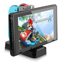 Nintend Için Şarj Dock Anahtarı Nintendo Anahtarı Için LED Şarj Anahtarı Gamepad Joy-conPro Denetleyici NS Anahtarı 4 in1 Için Şarj Standı nereden