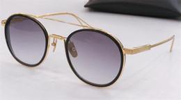 2019 armação de titânio óculos de sol homem 2019 novo luxo óculos de sol dos homens de design de metal do vintage óculos de titanium estilo da moda moldura quadrada uv 400 lente com caixa original armação de titânio óculos de sol homem barato