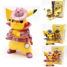 2019 Film Détective Pikachu PVC 17 cm Figure Aller En colère Kawaii Mignon Q Statue Poupée Modèle Jouets Figura Figurine Cadeaux D'enfants pour L'anniversaire MMA1889 ? partir de fabricateur