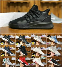 Argentina 2019 Nuevo EQT Bask Support Basketball Mediados para hombre Zapatillas deportivas EQTADV Chaussures Designer Women Future 93 17 Trpile Black EQT cheap running shoe support Suministro