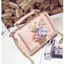 mejor mini bolsa de mensajero Rebajas Diseñador de la marca Crossbody Bolsas de Lujo Mujeres Diseñador Bolsa de Hombro Moda Mini Cadena Messenger Bag Diseñadores Bolsos Monedero Mejor Calidad