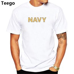 camisas de la marina del ejército Rebajas Summer Army Navy Marines MC Military Physical PT T Shirt Men Funny O Neck Print Cotton Casual Shirts