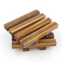 Commercio all'ingrosso di vendita calda nuovo legno legno portasapone titolare vassoio di stoccaggio bagno piatto doccia forniture per il bagno da piatti di sapone di legno all'ingrosso fornitori