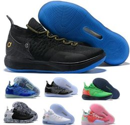 b73238028999 Basketball Shoes Sneakers Kd 11 Men Women Black Eybl Still Emoji Twilight  Pulse Kevin Durant 11s XI 2018 Zapatos Basket Ball Sports Shoes
