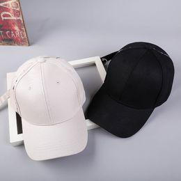2019 nueva versión coreana del lado bordado letra gorra de béisbol Creativo  cinturón largo aro cúpula gorra de béisbol marea f854ca378b5