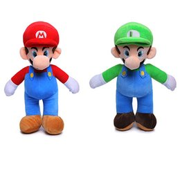 mushroom anime Promo Codes - 25cm 35CM 40CM Super Mario Mushroom plush toys Doll doll Super Mario plush toys 2 style choices children's good Animals Plush toys C2