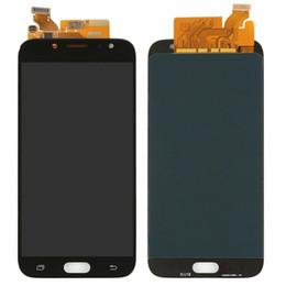 reparación de la pantalla del borde s6 Rebajas OLED J730 lcd para Samsung Galaxy J7 2017 Pantalla J730 LCD J7 Pro J730f Pantalla Digitalizador de pantalla táctil para Samsung J7 2017 LCD