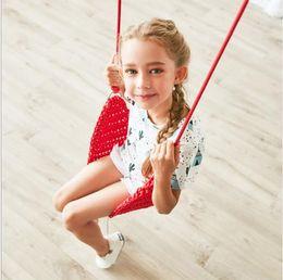 Corda de Nylon balanço de malha de malha Balanços das Crianças Indoor Sensory Swing para Brinquedos das Crianças Balanços portáteis assento do bebê corda net cadeira de balanço de