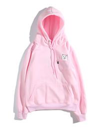 schwarze rosa hoodie mens Rabatt High Quality Mens Designer Hoodies pinkblack Farbe Herbst Designer Letters Mode Hiphop mit Kapuze stilvolle Sweatshirts zum Verkauf