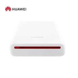 принтер для мини-телефонов Скидка Компания Huawei цинка портативный карманный фотопринтер CV80 АР Андроиде 4.1 300 точек на дюйм мини беспроводная телефон фото принтер