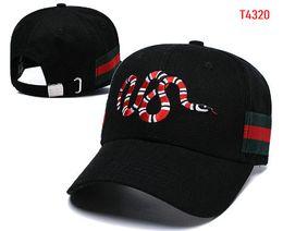 529912dc9df 2019 Designer Mens snake Baseball Caps Luxury Brand Hats Embroidered bone  Women casquette Mesh Sun Hat gorras Sports golf Cap 24
