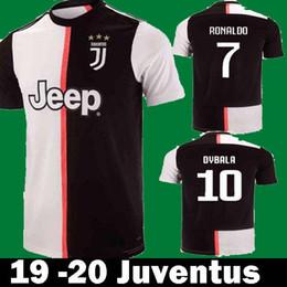 905851a27 Jerseys futbol en Ligne-2019 2020 Juventus Ronaldo DYBALA MARCHISIO BONUCCI  MANDZUKIC Maillots de football