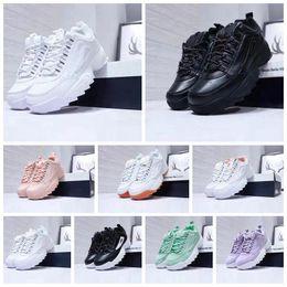 especiales de zapatos Rebajas Venta caliente de Moda II 2 Triple blanco negro gris rosado Mujeres de los hombres sección especial deportes zapatillas de deporte aumentaron zapatos corrientes ocasionales 36-44