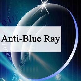 a483f15af2 Anti-Blue Ray Aspheric Lens CR-39 Prescription Myopia Presbyopia Lens  Anti-Radiation 1.56   1.61   1.67 Index A Pair