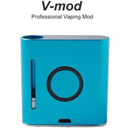 2019 cloupor vape VMOD Professional V-MOD Vaping Mod Mod 900mAh Vape Pen Batterie Mod. Fil 510 VMOD préchauffer Vape Pen Box Mod pour cartouches vape à huile épaisse