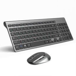 tastiera di windows xp Sconti Tastiera JOYACCESS russa Wireless Mouse Set Mouse ergonomico PC Mause silenzioso pulsante della tastiera e del mouse Combo 2.4G per PC Laptop