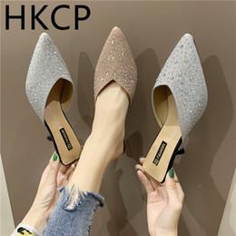 0d991c04c3 2019 sapatos sul coreanos HKCP mulheres de salto alto 2019 nova versão  sul-coreana do
