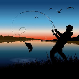 пустая оптика Скидка Спорт на открытом воздухе удочки спиннинги регулируемые стрейч река рыбалка прямая продажа удочки от производителя