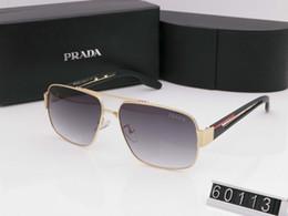 beste neue sonnenbrille Rabatt Heiße neue Art- und Weiseweinlese, die Sonnenbrille-Mann-im Freiensport-Entwerfer-Mens-Sonnenbrille fährt Meistverkaufte Schutzbrillen-Gläser 7 Farbe mit Kasten