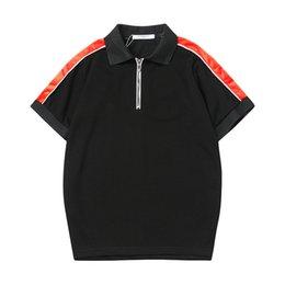 Топ-поло бренды онлайн-2019 новый бренд дизайнер лето поло топы вышивка мужские рубашки поло мода рубашка мужчины хай-стрит бренд рубашка повседневная футболка