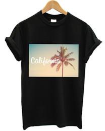 top moda urbana Sconti T Shirt Beach Palm Tree Top Estate Urban Fresh Mens negozio Donne KidsCool casuale orgoglio uomini della maglietta unisex New Fashion