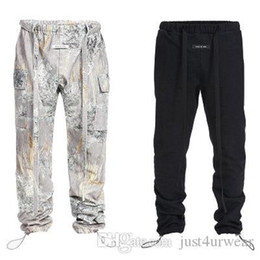 2020 брендовые брюки Mens Fashion Brand Cargo Pants Casual Hip Hop Sport Full Length Drawstring Straight Pants Male Fashion Clothing дешево брендовые брюки