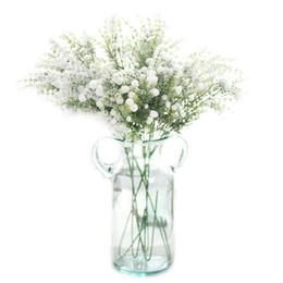 schneespray dekoration Rabatt 1 Stück künstliche Blumen Sprinkle Schnee voller Stern Schnee Spray Fake Flowers Bouquet Weihnachten Home Dekoration Hochzeit Layout-