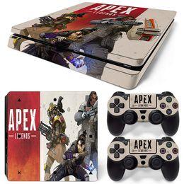 Игра Apex Legends PS4 Тонкий стикер кожи для консоли и контроллеров PlayStation PS4 Тонкий стикер скинов Наклейка Винил Детские игрушки Подарок от