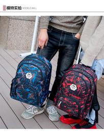 Mejores mochilas al aire libre online-Mejor al aire libre de camuflaje bolsas de viaje bolsa de ordenador mochila cadena de Oxford freno bolsa de estudiante de escuela intermedia muchos colores la mejor calidad