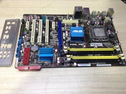 escritorio ddr2 Rebajas Placa base original ASUS P5QL PRO DDR2 LGA 775 SATA II 16GB P43 Desktop Motherborad Envío gratis
