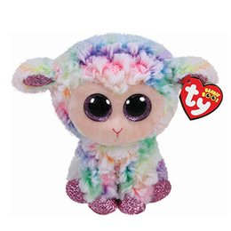 1a08ad12a9c31 Discount ty christmas - TY Beanie Boos 6   15cm Sheep Plush Collectible Big  Eyes