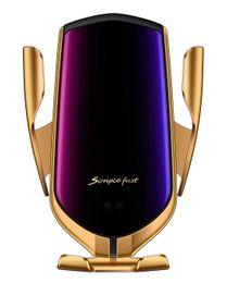 2019 cargadores inalámbricos baratos Barato 2019 qi rápido cargador inalámbrico para el teléfono móvil inteligente cargador de coche inalámbrico para sam sung teléfono cargadores inalámbricos baratos baratos