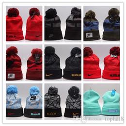 cappelli beanie di ny Sconti Berretto ricamato delle lettere di NY del cappello lavorato a maglia caldo di inverno di alta qualità per i cappucci all'aperto di modo unisex come lo sci ecc.