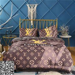 Queen-size-soft-decke online-Modische Luxus Bettwäsche-Set King Size Twin Voll Queen-Bett Tröster Sets Nizza weiches Berühren Tröster Abdeckung mit Pillowcase Decke