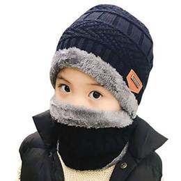 super boy beanie Rebajas Ltnshry padre hijo super cálido Invierno pasamontañas de lana Gorros de punto Sombrero y bufanda para niños de 3-12 años de edad, niña sombreros