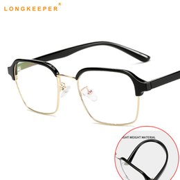 ba3a532bb33 TR90 Flexible Glasses Ultra Light Flexible Myopia Eyeglasses Women Men  Short Sight Lens Eyewear Half-Frame Glasses