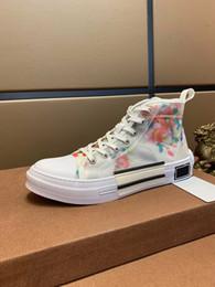 2020 zapatos de figura de moda Original de la flor diseñador de moda para mujer figura zapatos de alta calidad superior del diseñador clásico de los hombres y las mujeres zapatos casuales 38-44 altos zapatos de figura de moda baratos