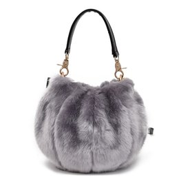 fluffy bags Promo Codes - bags for women 2018 new autumn and winter fluffy handbag, cute plush Satchel Bag womens handbags and purses